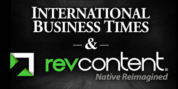 revcontent international business times exclusive partnership