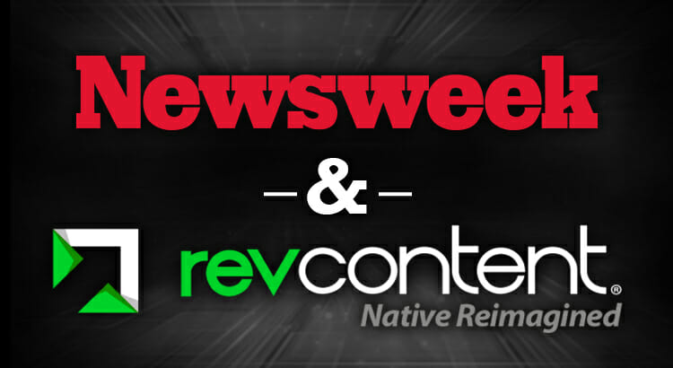 revcontent newsweek partnership