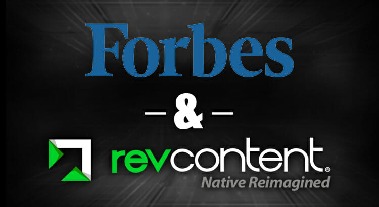 revcontent forbes partnership