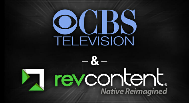 revcontent cbs television partnership