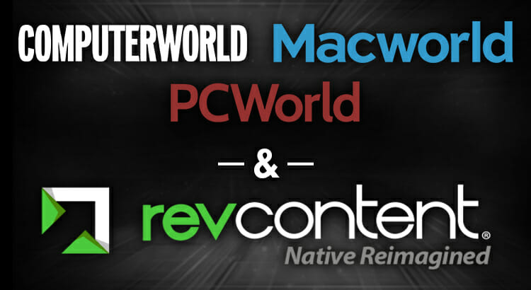 revcontent pcworld macworld partnership