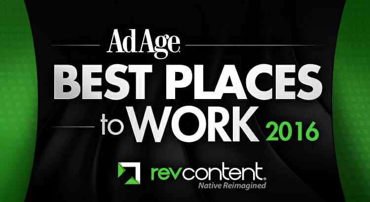revcontent ad age best places to work