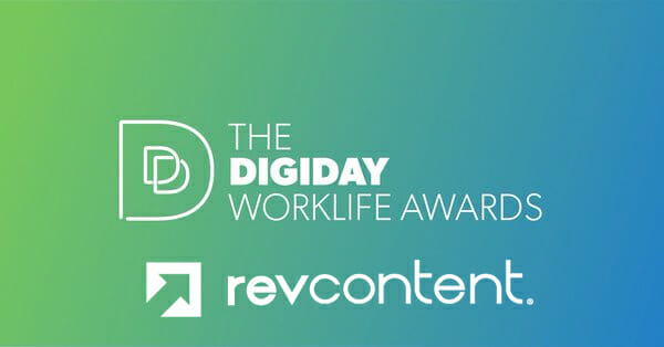 Digiday Worklife Awards Revcontent Most Innovative Culture tech Provider