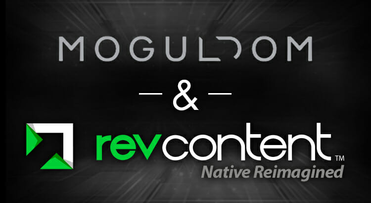 revcontent moguldom partnership