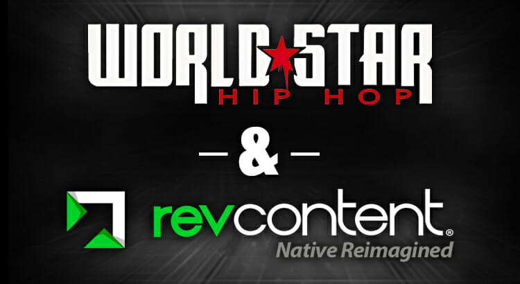 revcontent worldstar hip hop partnership