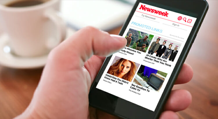 revcontent mobile optimization