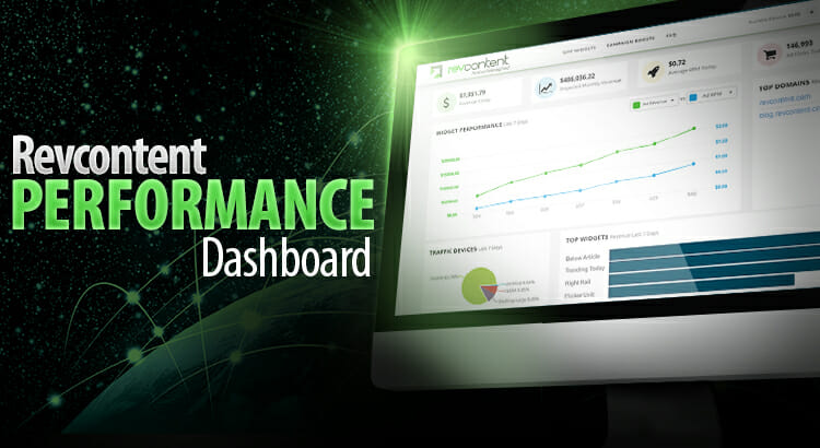 revcontent performance dashboard