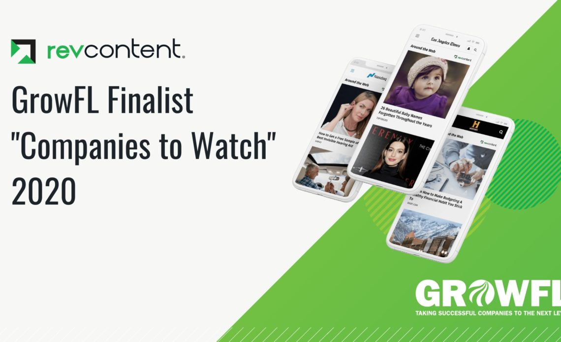 Revcontent GrowFL Award 2020